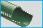 T1750 Green MDS PVC Suction Hose (Medium Weight)